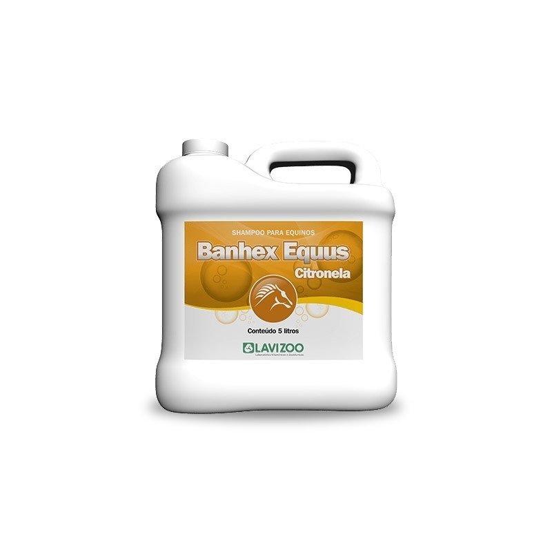 Shampoo Banhex Equus Citronela Gl De 5 Lts - Lavizoo