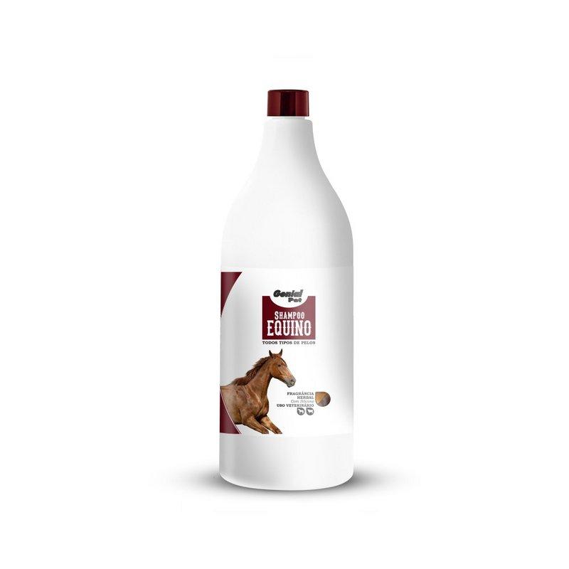 Shampoo Equino Todos Tipos De Pelos Herbal 1 Lt  Genial Pet