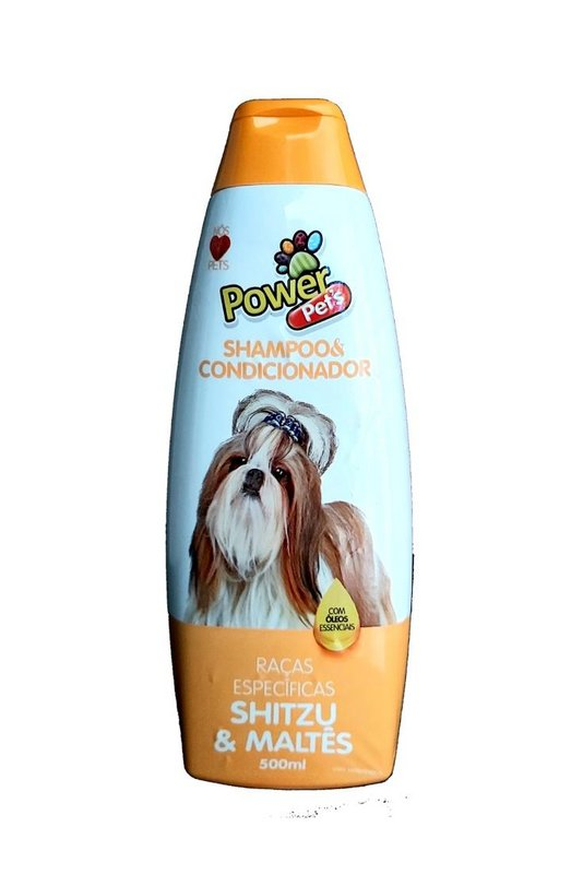 Shampoo Power Pets Raça Shitzu & Maltês - 700ml