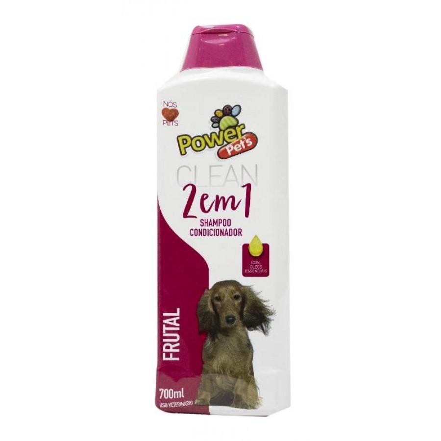 Shampoo Powerpets 2x1 Frutal - 700ml