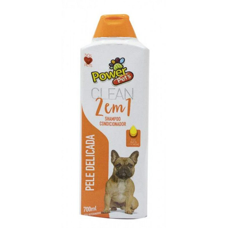 Shampoo Powerpets 2x1 Pele Delicada - 700ml