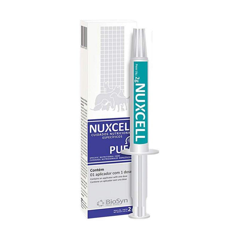 Suplemento Simbiotico Nuxcell Pufa Para Cachorros Ampola 2g