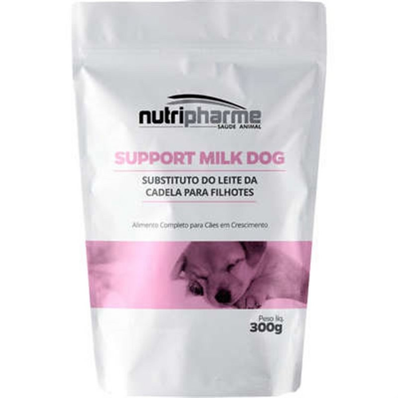 Support Milk Dog Alimento P/ Cães Filhotes Nutripharme 300g