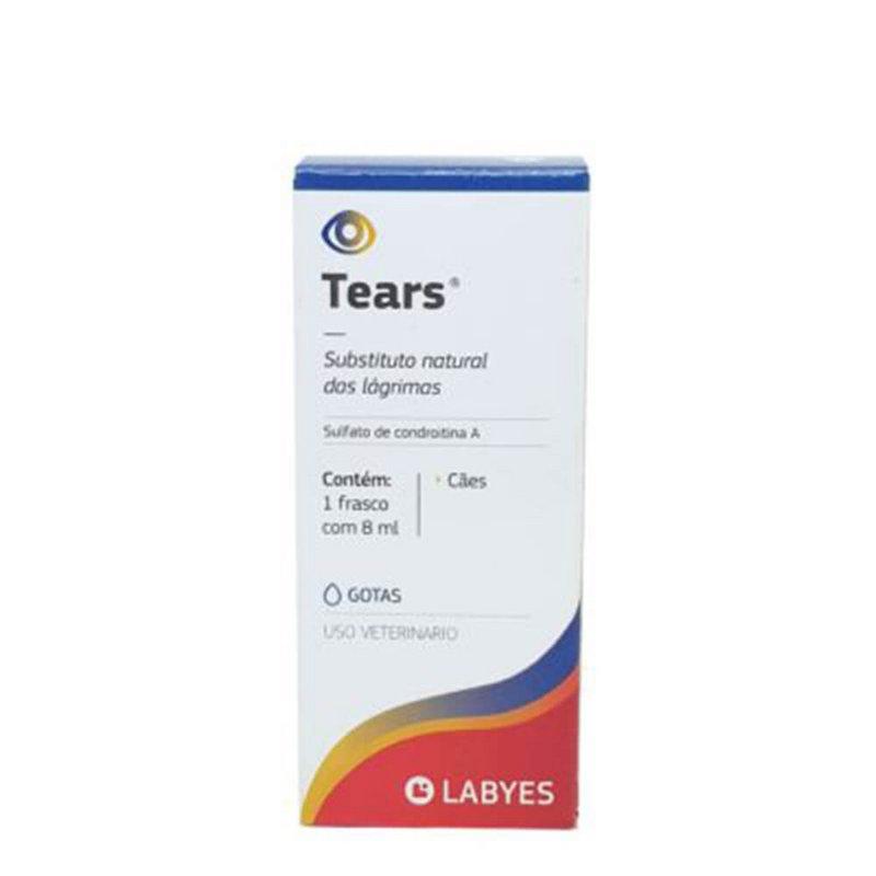Tears Colírio Labyes 8ml - Para Cachorros
