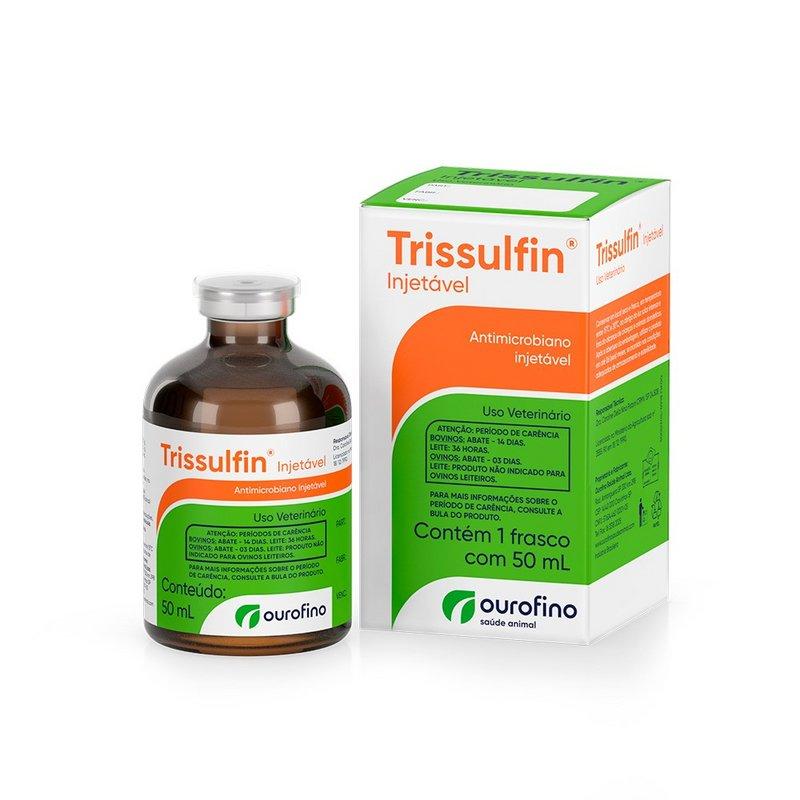 Trissulfin Injetavel 50ml Ourofino