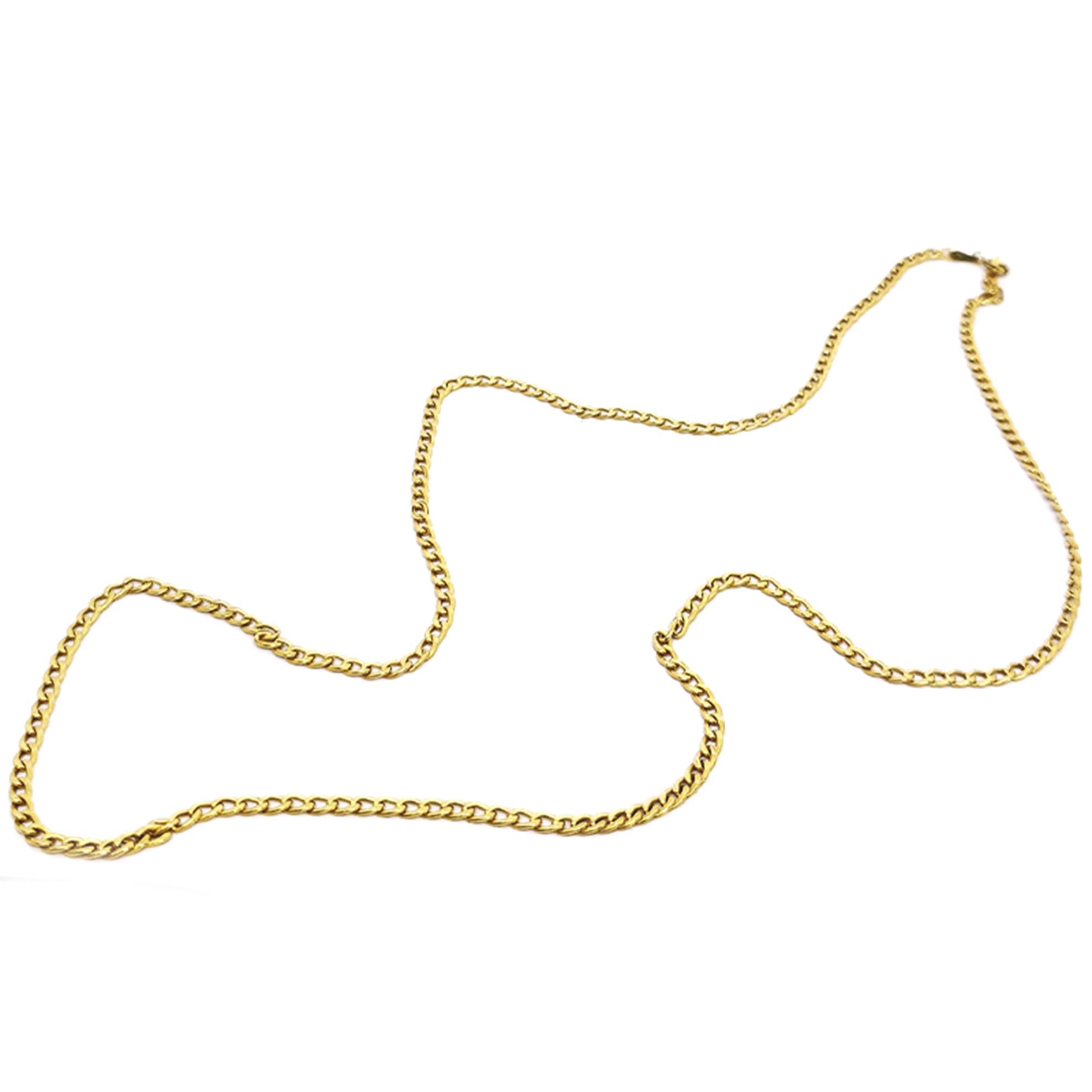 Colar Grumet em Ouro 18 Kilates