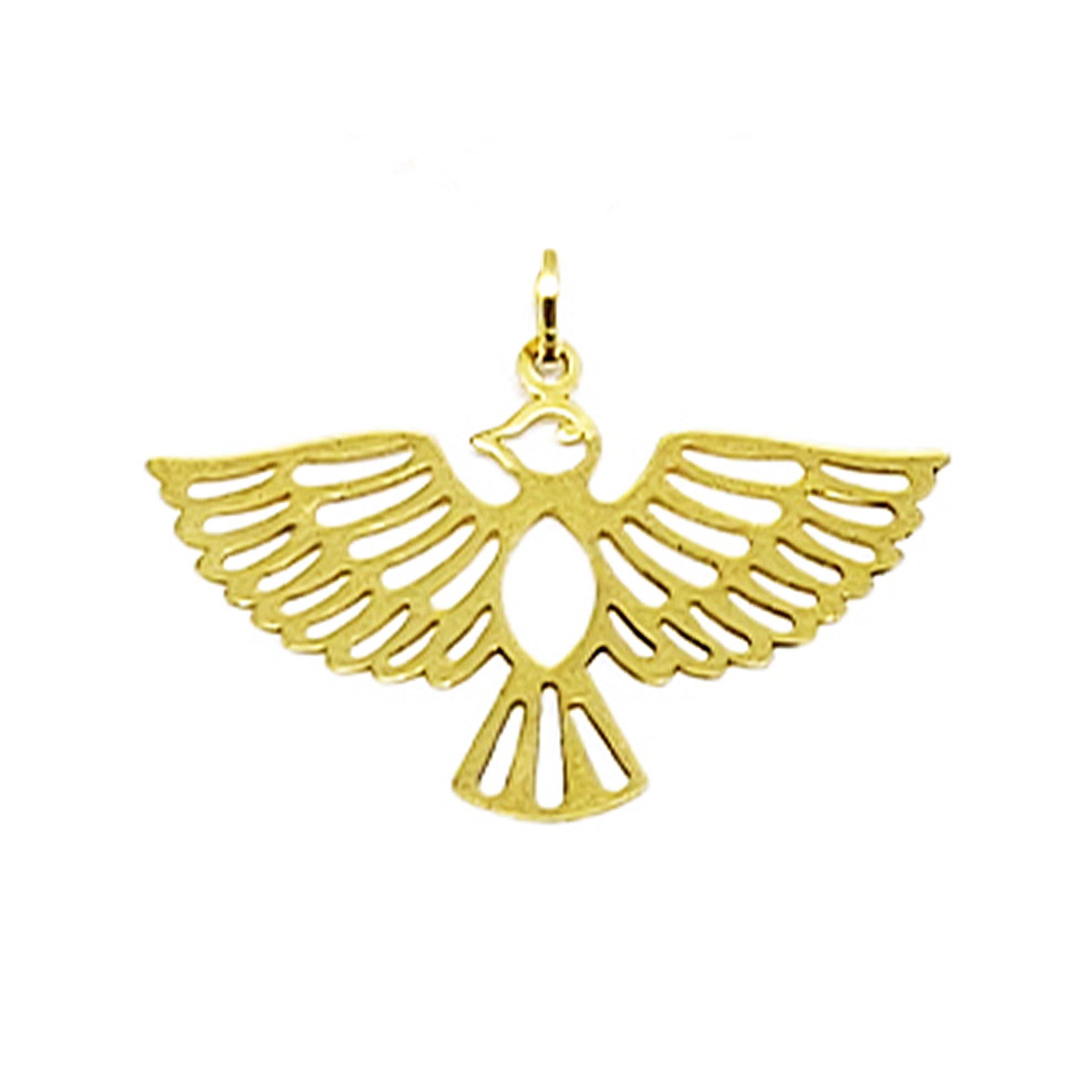 Pingente Divino Espírito Santo em Ouro 18 Kilates