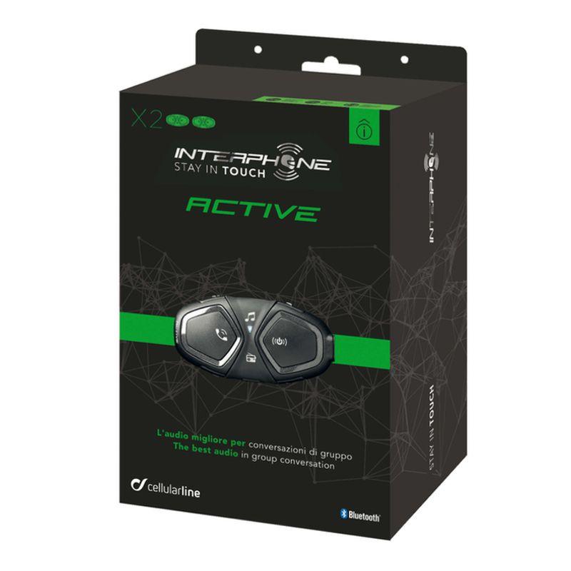 INTERCOMUNICADOR ACTIVE UNIDADE - 1000M + APP SMART + RADIO