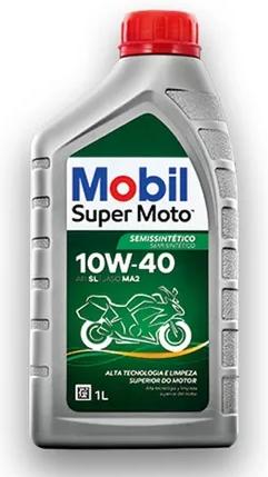 ÓLEO MOBIL 10W40 SUPER MOTO MX SEMI SINTETICO 1L
