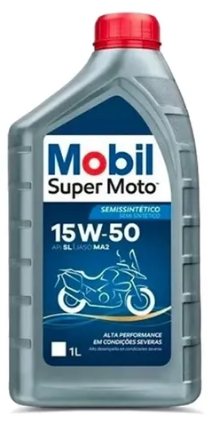ÓLEO MOBIL 15W50 SUPER MOTO MX EXTREME 1L