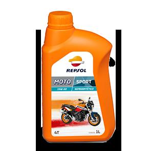ÓLEO REPSOL 15W50 4T MOTO SPORT SEMI SINTETICO 1L
