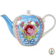 Bule Azul 1600ml Floral Pip Studio
