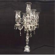 Castiçal de Cristal Transparente - Cód.: FCN107CH