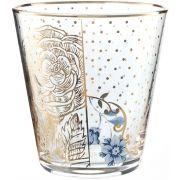 Copo para Água Golden Flower - Royal - Cód.: 51131015
