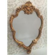 Espelho Poliresina Dourado - Cód.: FRM124