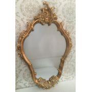 Espelho Poliresina Dourado - Cód.: FRM126