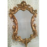 Espelho Poliresina Dourado - Cód.: FRM128