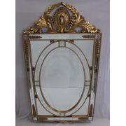 Espelho Poliresina Dourado - Cód.: FRM167