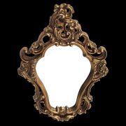 Espelho Poliresina Dourado - Cód.: FRM81