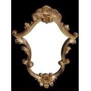 Espelho Poliresina Dourado - Cód.: FRM83