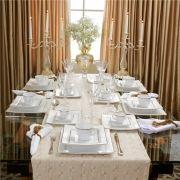 Rendado - Aparelho de Jantar 42 Peças (6 Pessoas)