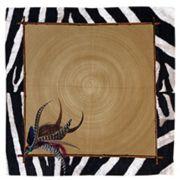 Guardanapo Durban Zebra com Dourado (6 Unidades) - Cód: 3031