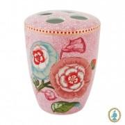 Porta Escova de Dentes Rosa - Spring to Life