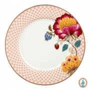 Prato Raso Branco Fantasy - Floral Fantasy