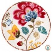Prato de Pão Branco - Floral Fantasy