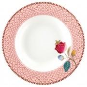 Prato de Sopa Rosa Fantasy - Floral Fantasy