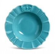 Prato Fundo Windsor Azul 22cm (6 Unidades)
