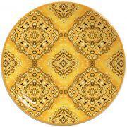 Prato de Pão Bandana Amarela (6 Unidades)