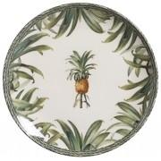 Prato Raso Pineapple Green 27cm (6 Unidades)
