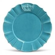 Prato Sobremesa Windsor Azul 20,5cm  (6 Unidades)
