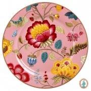 Prato Sousplat Rosa - Floral Fantasy