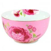 Tigela 12 Rosa Floral Pip Studio