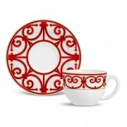 Xícara de Chá com Pires Medieval (6 Unidades)