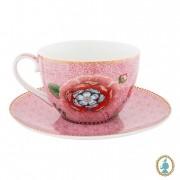 Xícara de Chá Rosa - Spring to Life