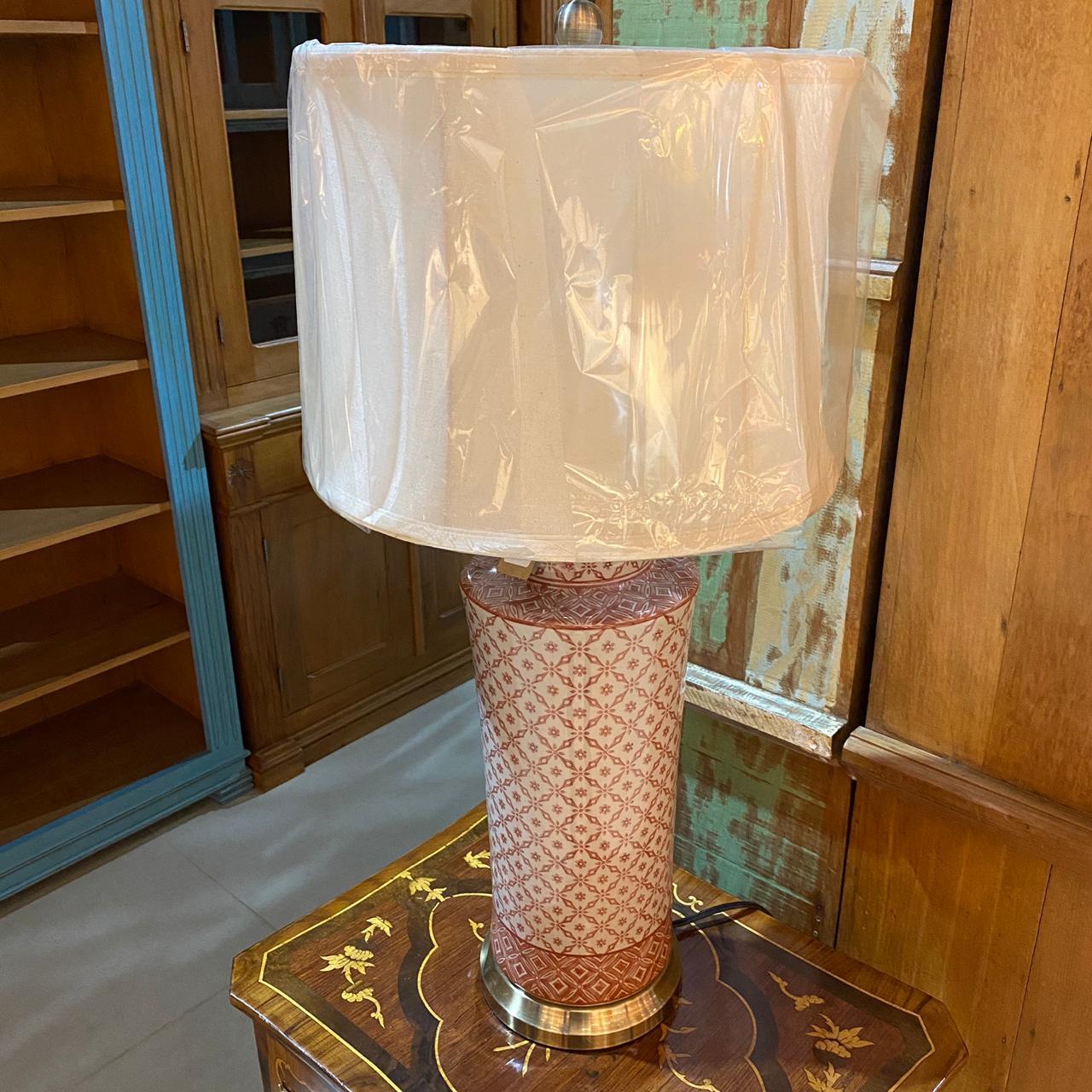 Abajur de Porcelana Vaughan - Cod.: 39.308 - RP
