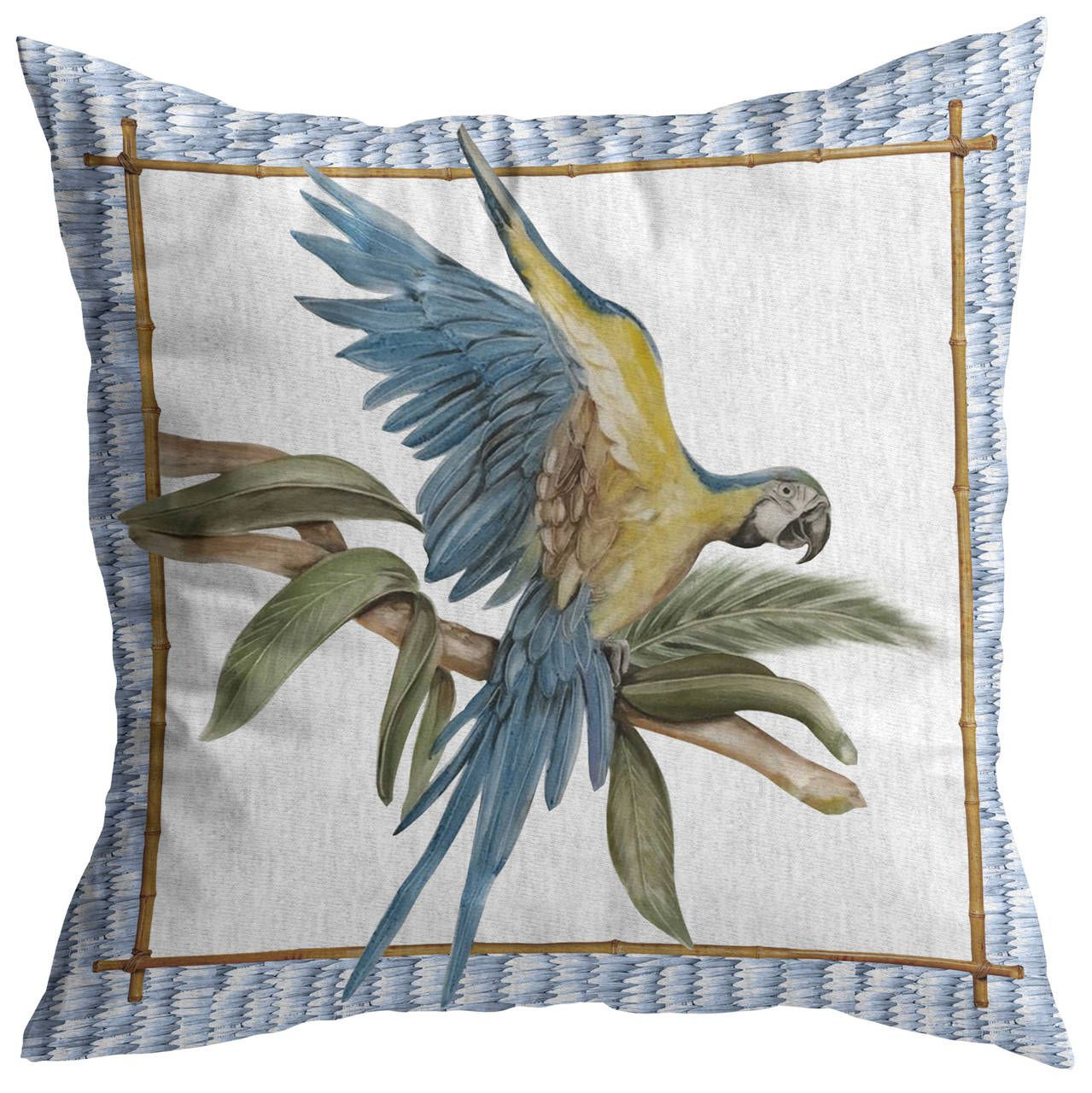 Almofada Tropical Birds Arara Cód.: 4363 - MB