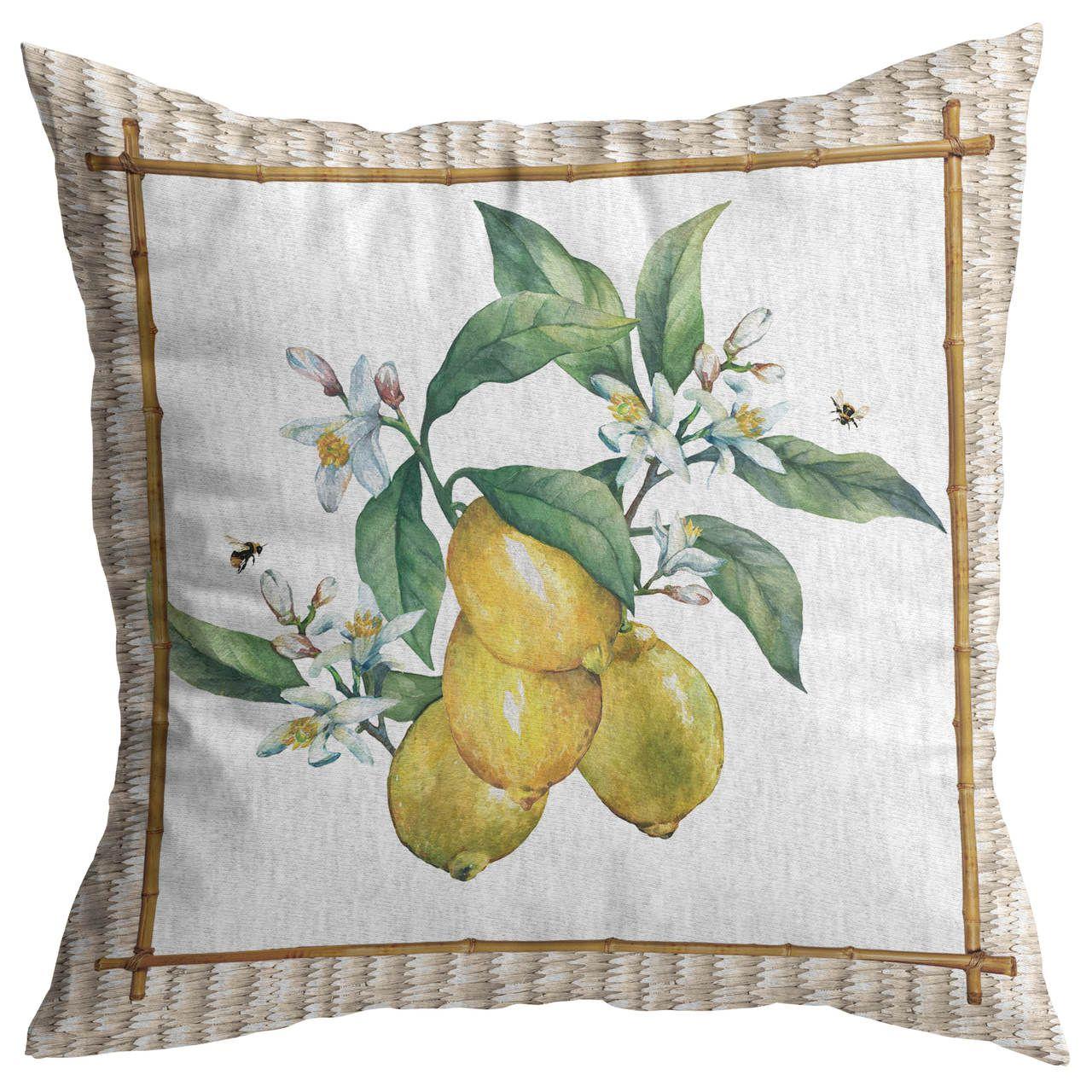 Almofada Tropical Fruits Limão Cód.: 4350 - MB