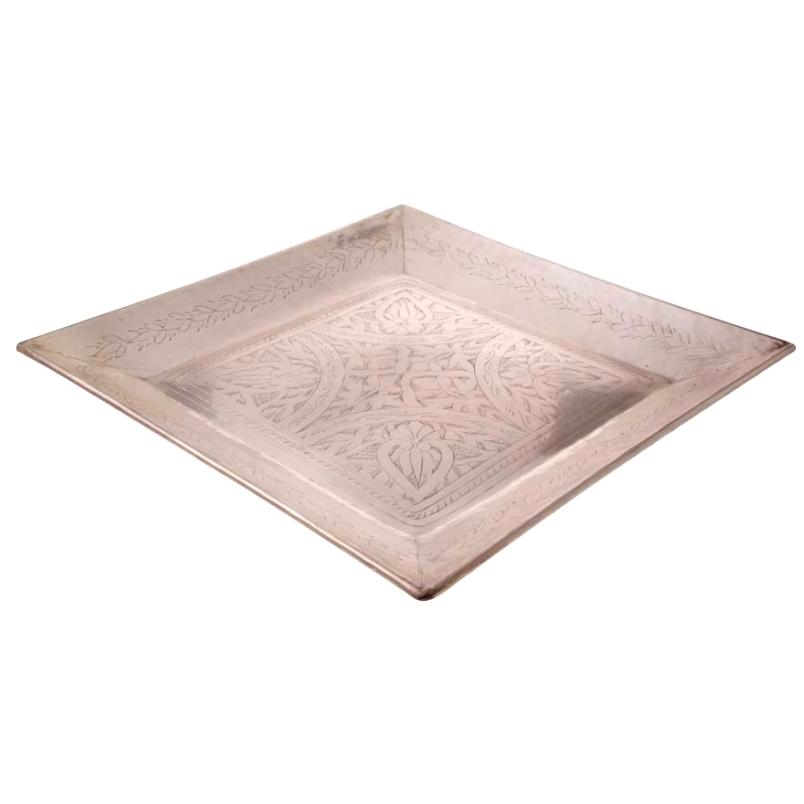 Bandeja de Bronze 42x42cm - Cód. 1542
