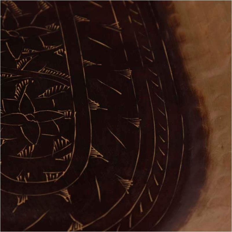 Bandeja de Bronze Oval 51x23cm - Cód. 1550