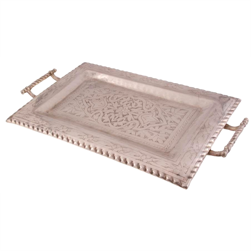 Bandeja de Bronze Serving Tray 28x48cm - Cód. 1530