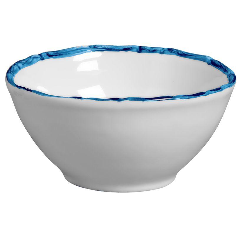 Bowl Bambu Colorido Azul (6 Unidades)