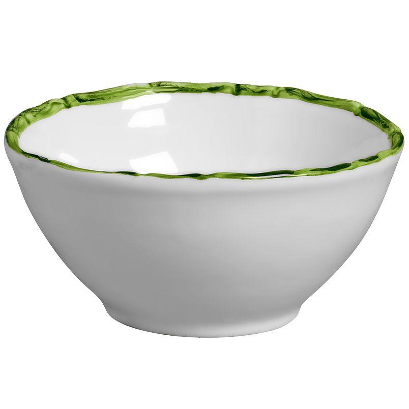 Bowl Bambu Colorido Verde (6 Unidades)