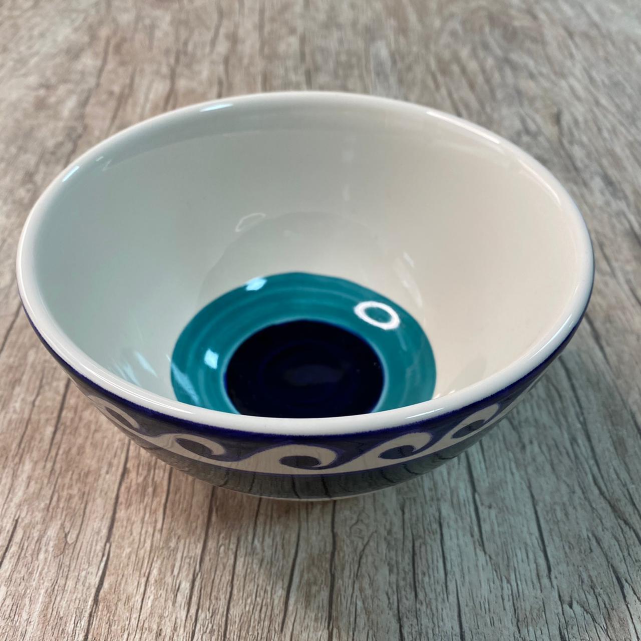 Bowl Olho Grego Pintado à Mão (06 Unidades) - LS