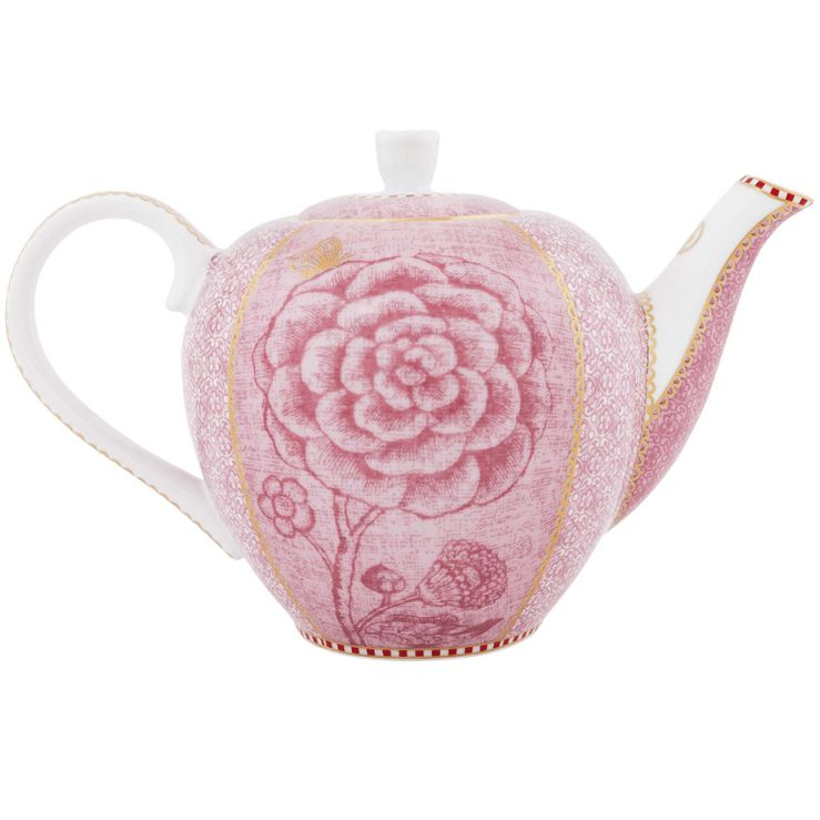 Bule Pequeno Rosa - Spring to Life - Pip Studio