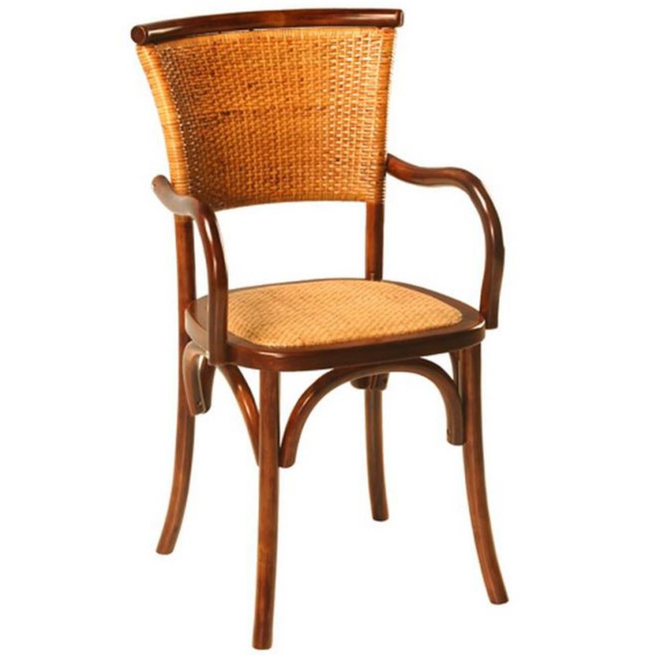 Cadeira c/ Braços Paris Rattan Cód.: 25.176 RP