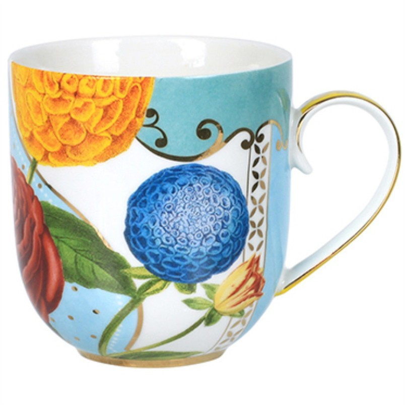 Caneca 220ml Flowers Royal Pip Studio